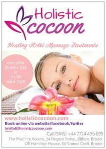 Intro Offer Flyer Holistic Cocoon Bristol